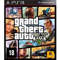 Jogo Game Grand Theft Auto V Gta 5 - Ps3 Mídia Física