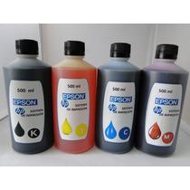 Tinta Epson Y Hp De 500ml Garantizada Y Certificada
