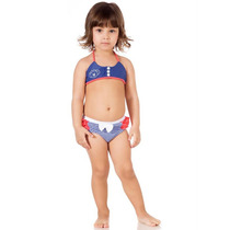 Biquini Lilica Ripilica Novo Original Baby Infantil Lycra