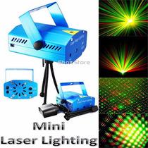 Mini Laser Audioritmico Efectos Dj Boliche Luces Fiesta Deco