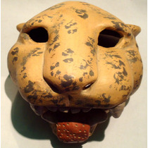 Artesanía De Mascara De Jaguar