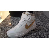 Nike I For One Blancas Con Dorado Damas
