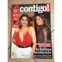 Revista Contigo Bruna Marquezine Sasha Roberto Carlos 2015