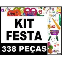 Kit Festa 150 Pessoas Adereços Casamento Formatura + Brindes