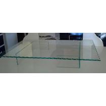 Mesa Em Vidro 65x45 Cm Largura