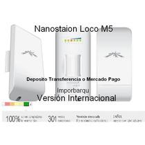 Nanostation Loco M5 Ubiquiti 5 Ghz 13 Dbi