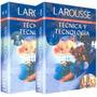 Diccionario Ilustrado De Técnica Y Tecnología 2 Vols Larouss