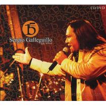 Sergio Galleguillo Y Los Amigos - 15 Años En Vivo Cd + Dvd