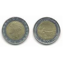 Moneda Italiana 500 Liras