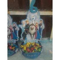 Centros De Mesa Infantiles Frozen Y Otros!!!