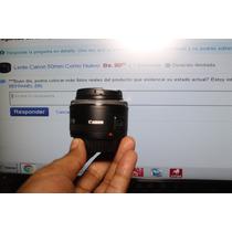 Lente Canon 50mm Como Nuevo