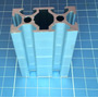 Perfil De Alumínio Estrutural V-slot 20x40 Padrão Openbuilds