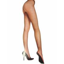 Meia Calça Estilo Beyonce Arrastão Renda Nude