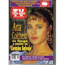 Tele-guia.en Portada, Ana Colchero (año 1993) $55.00
