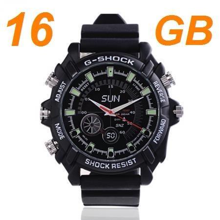 91a18f92c1f Relógio Espião Visão Noturna Hd 1080p 5s Preço garantia 100% - R ...