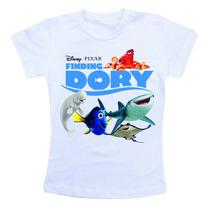 Camiseta Infantil - Procurando Dory