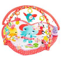 Tapete Atividade Ginásio Mundo Rosa Bebê Fisher Price Mattel