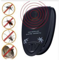 Repelente Eletrônico Ultrassônico Baratas Ratos Pernilongos