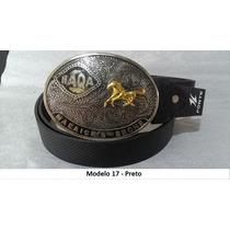 Cinto Com Fivela Cowboy Country Rodeio - Menor Preço M.l.