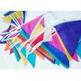 Banderines De Tela Colores 10 Metros