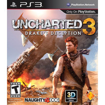 Jogo Uncharted 3 Drakes Deception Ps3 100% Dublado Português
