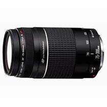 Lente Canon Ef 75-300mm F/4-5.6 Iii Usm Af Garantia Brasil