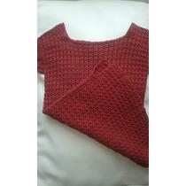 Blusa Tejida Para Dama En Crochet