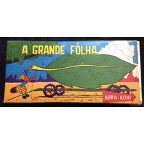 A Grande Folha Slide Colorlab Antigo História Infantil