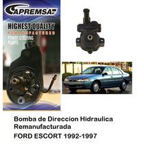 Bomba De Direccion Hidraulica / Licuadora Ford Escort