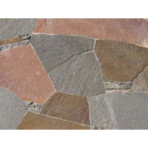 Piedra Natural, Laja Irregular Pórfido, Piso, Pared