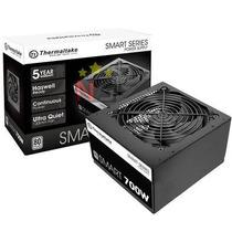 Fonte 700w Thermaltake Smart Series 80 Plus Pfc Ativo White