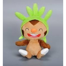 Peluche Plush Tomy Chespin Original Pokemon. Unico En Ml