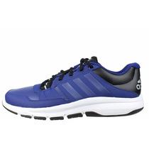 Zapatillas Adidas Training Gym Warrior .2 Azul C/negro