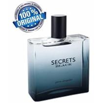Deo Colônia Secrets Black 100ml - Pierre Alexander