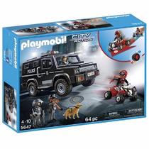 Playmobil Top Agents Fuerzas Especiales De Policia (swat)