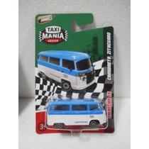 Taxi Mania Combi Camioneta Zitacuaro Azul/blanco 1:64