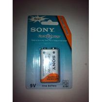 Pila Sony Recargable 9 Volts De 350 Mha