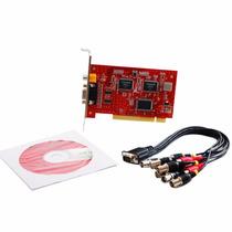 Placa Dvr Sr-208m9 Pci Card 8 Canais Com Áudio P/ Windows Xp