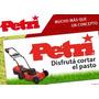 Maquina De Cortar Cesped 1 Hp C/bolsa Y Regulacion,oferta!!!