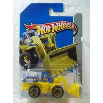 Hot Wheels Construccion Traxcavo Wheel Loader Azul 44/250