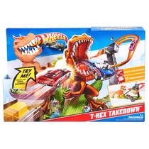 Hot Wheels Duelo De T-rex Juguetería El Pehuén