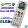 Controle Remoto Universal Ar-condicionado Split Elgin