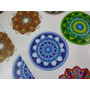 Etiquetas Stickers Mandala Plancha De Colores