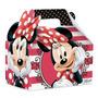 Maleta Kids Médio 10 Un Minnie Charm Disney Original Cromus