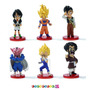 Dragon Ball Z Kai - Figuras X 6! Saga Buu Dwc Vol 1