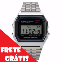 Lote Atacado Revenda 10 Relógios Wr Retrô Vintage Prata