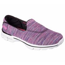 Zapatos Skechers Para Damas Go Walk 3 - 13987 - Bkmt
