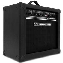 Caixa Amplificadora Guitarra Profissional 30w Sound Maker