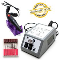 Lixa Elétrica Polidor Unha Motor Manicure Pedicure 110v
