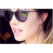 Óculos Feminino Ray-ban Veludo Espelhado Erika Velvet Rb4171